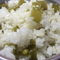 美味しいスナップエンドウの炊き込みご飯作り方。(動画あり)
