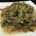 味付け簡単!合い挽きミンチと大根のポン酢炒めのレシピ、作り方
