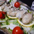 バリバリ美味しい。牡蠣のはりはりサラダ、自家製?レモンドレッシングで。の作り方、レシピ